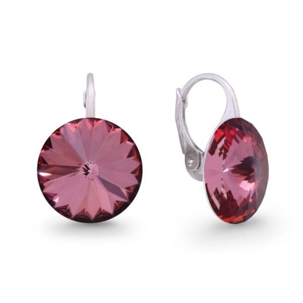 Hõbedast kõrvarõngad Swarovski® kristallidega Kood: KA112214AP