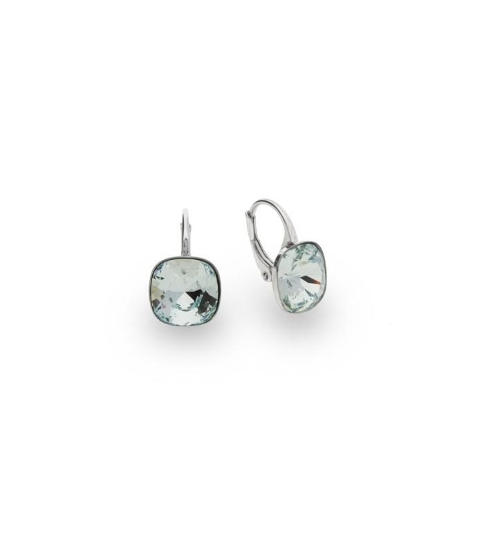 Hõbedast kõrvarõngad Swarovski® kristallidega Kood: KA447010LAZ