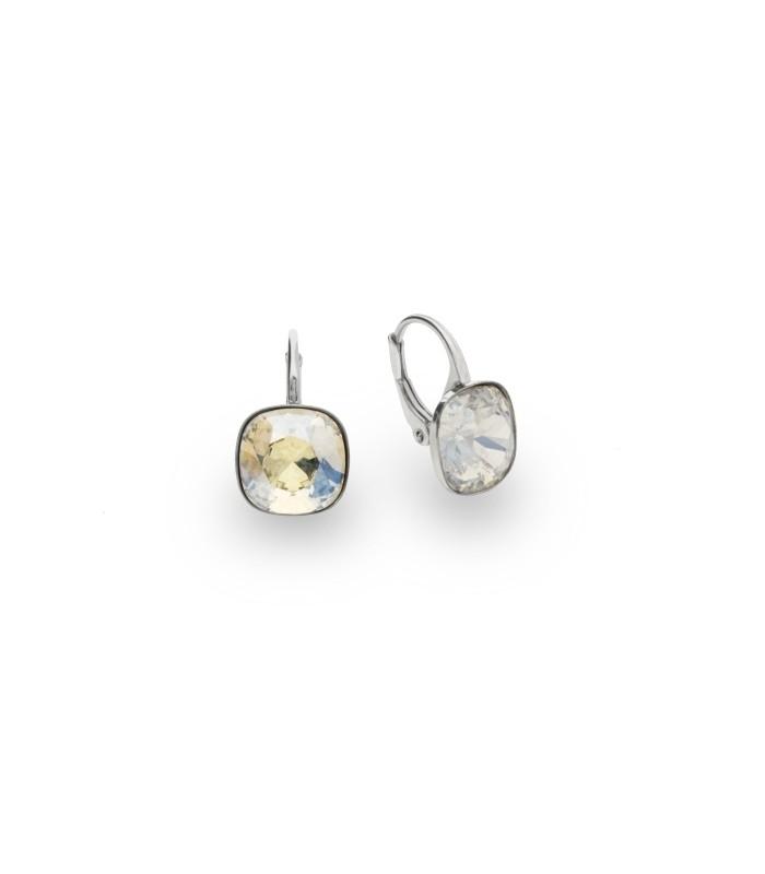 Hõbedast kõrvarõngad Swarovski® kristallidega Kood: KA447010MOL