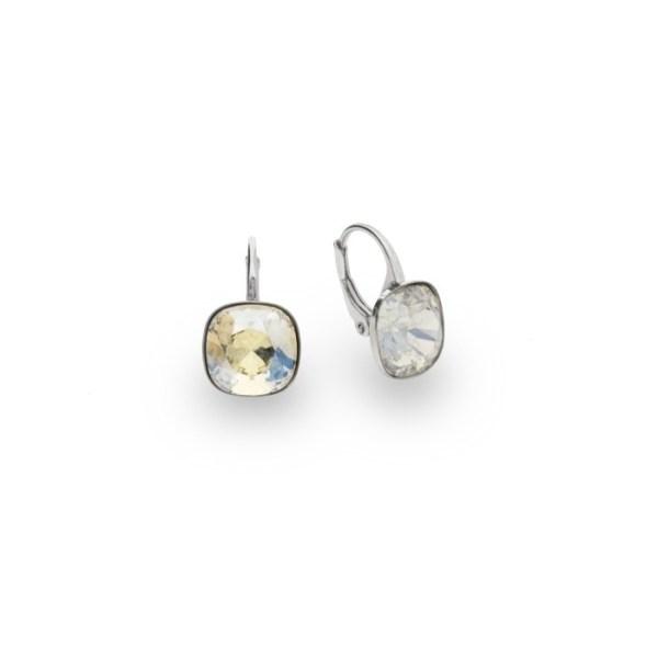 Silver earrings with Swarovski® crystals Code: KA447010MOL