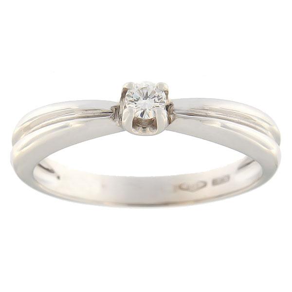 82e5b81d48f Kullast sõrmus teemantiga 0,12 ct. Kood: 5jf - MATIGOLD - Mati Kullaäri