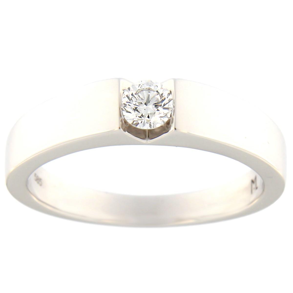 bd99fa447eb Kullast sõrmus teemantiga 0,20 ct. Kood: 64at · Esileht / Ehted /  Kihlasõrmused ...