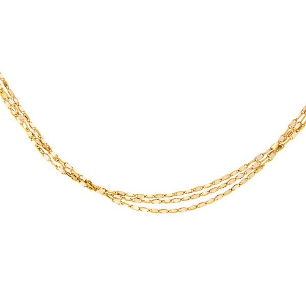 Kullast kaelakett Kood: 14lh