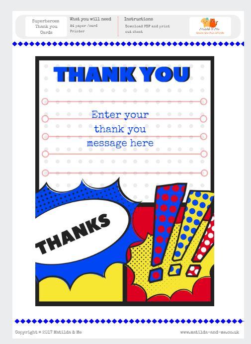 picture about Free Superhero Party Printable identify Superhero Totally free Celebration Printables Matilda Me Weblog
