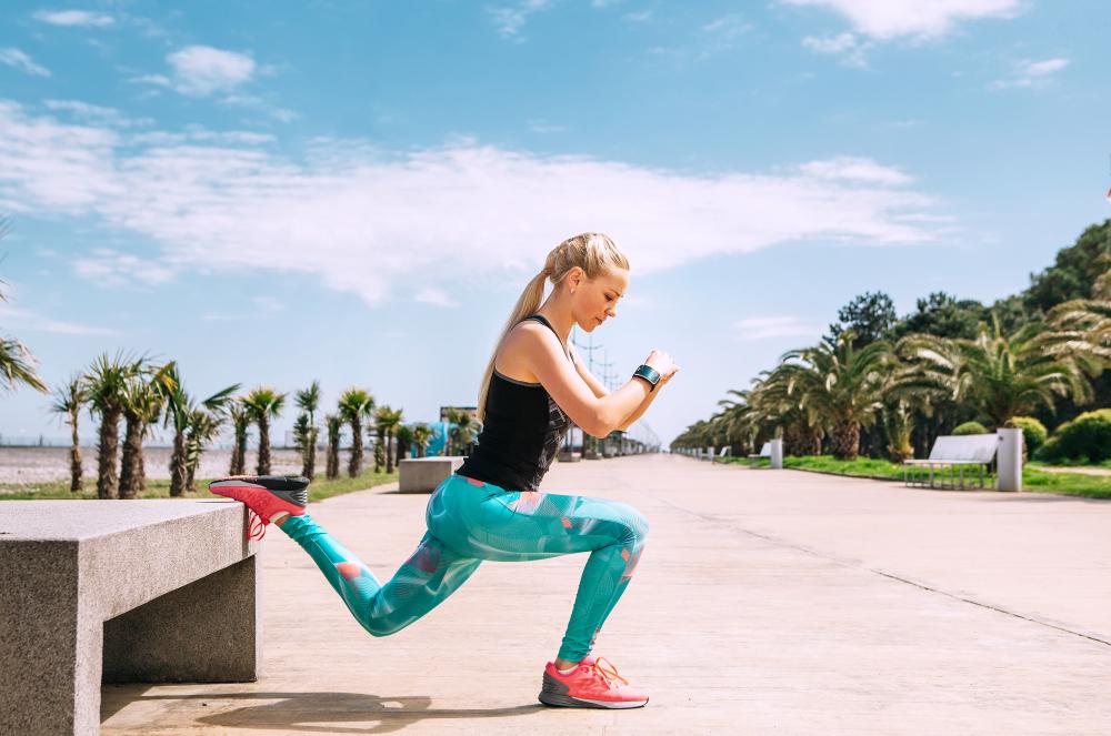 ejercicio + calor