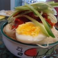 Bi-bim-guksu 비빔국수 Mixed Noodles