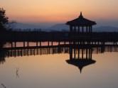 Wonju At Sunset