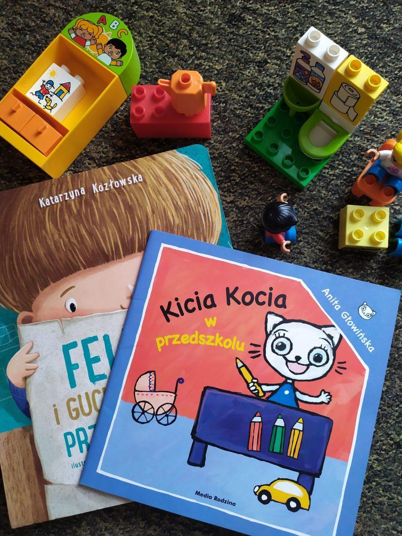 materiały przydatne do adaptacji w przedszkolu książeczka feliks i kicia kocia