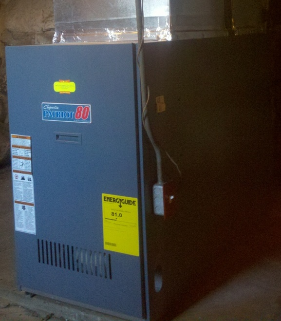 Amherst NH Energy Efficient Oil Furnace Installation