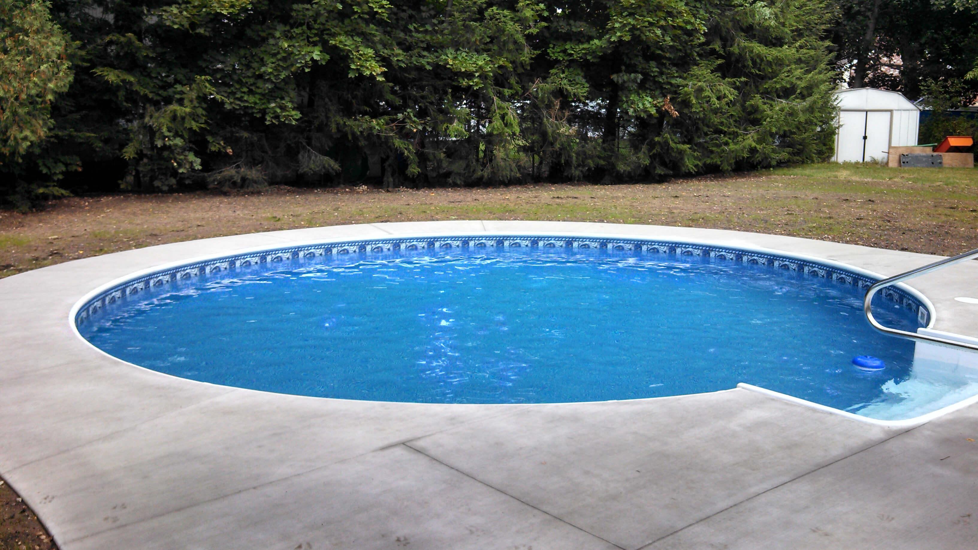 Leominster MA Inground Swimming Pool