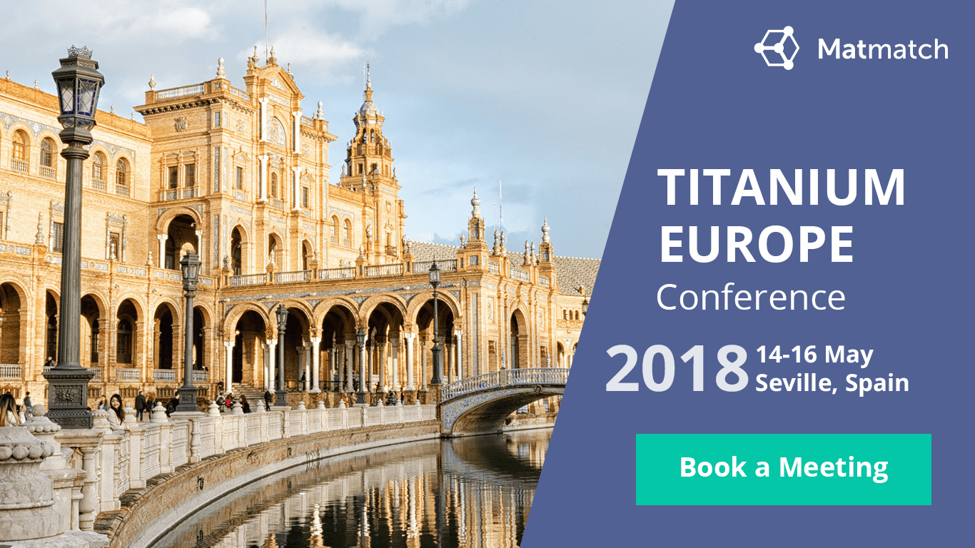 Matmatch at TITANIUM EUROPE 2018