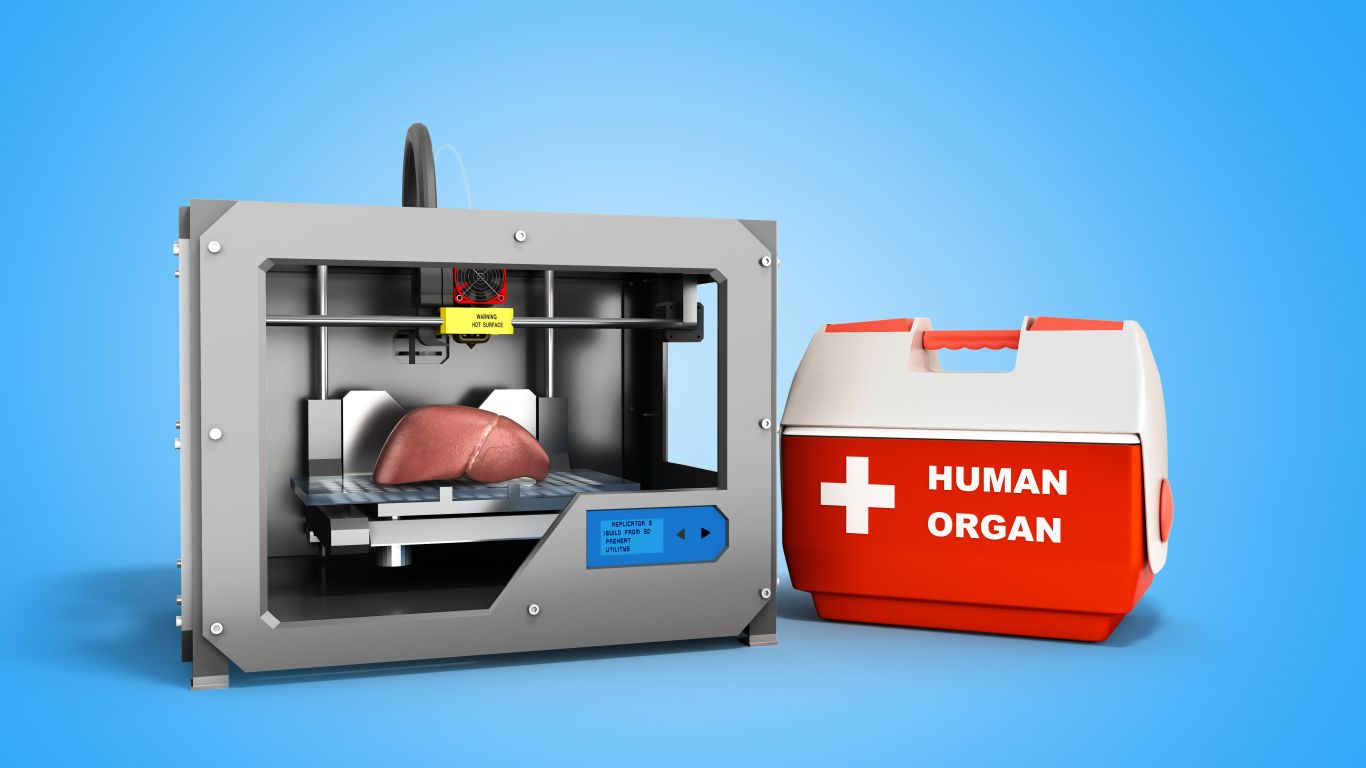 From PLA to Bioprinting: Science Fiction Tools for the Medical Field
