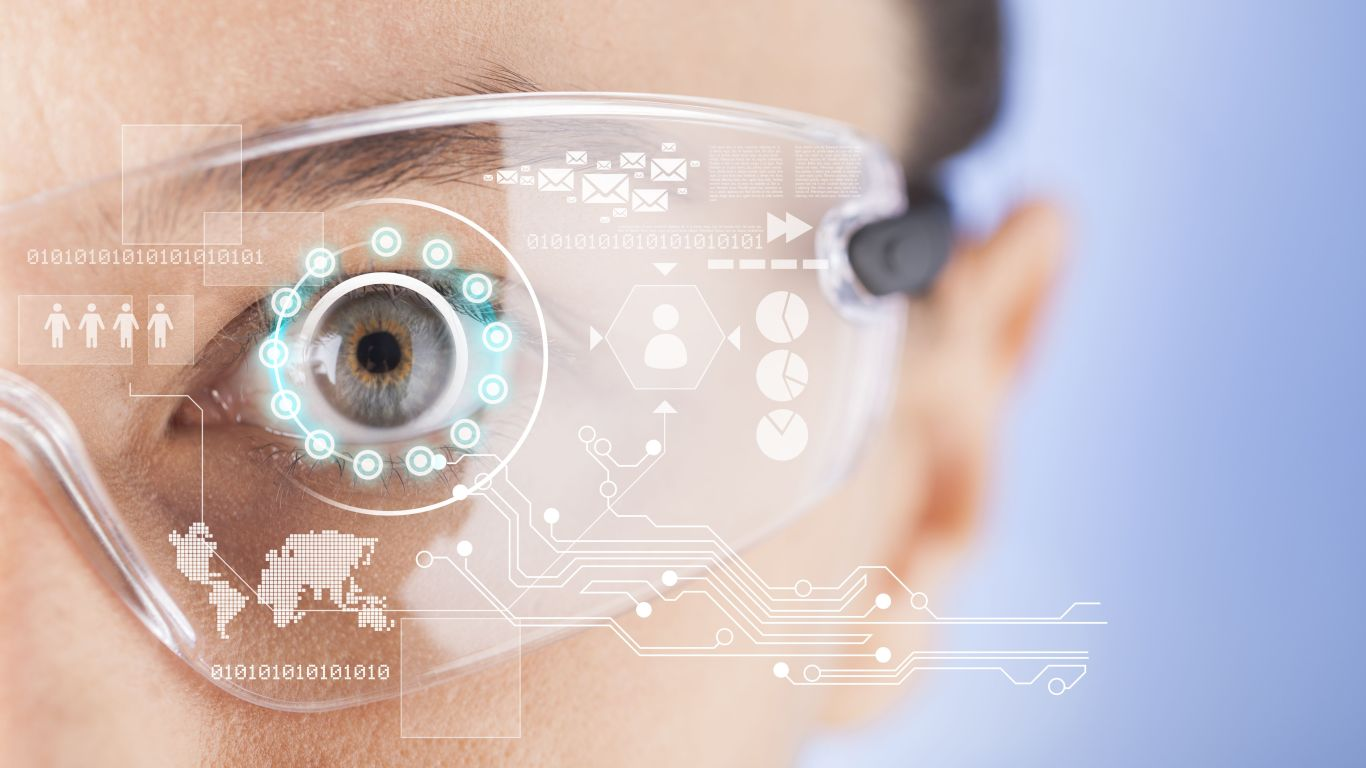 Simple smart glass recognizes digits: future of artificial vision