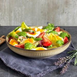 salat nicoise vegetar