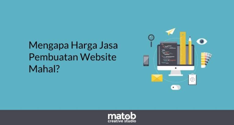 Mengapa Harga Jasa Pembuatan Website Mahal?