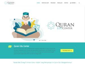 jasa pembuatan website perusahaan quran edu center