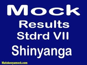Matokeo ya mock darasa la saba 2021 Shinyanga, Mock results darasa la saba 2021 Shinyanga, matokeo ya mock ya darasa la saba 2021 mkoa wa Shinyanga, matokeo ya mock standard seven