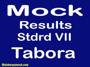 Matokeo ya mock darasa la saba 2021 Tabora, Mock results darasa la saba 2021 Tabora, matokeo ya mock ya darasa la saba 2021 mkoa wa Tabora, matokeo ya mock standard seven