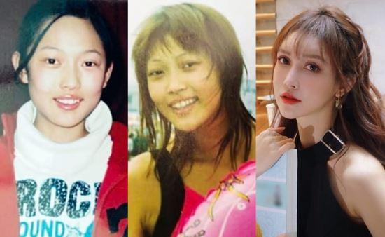 中国の有名モデル 14歳の頃から計100回の整形を行い見た目が変わり 整形前の方が良いという声も
