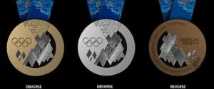 ソチオリンピックの金メダル・銀メダル・銅メダル