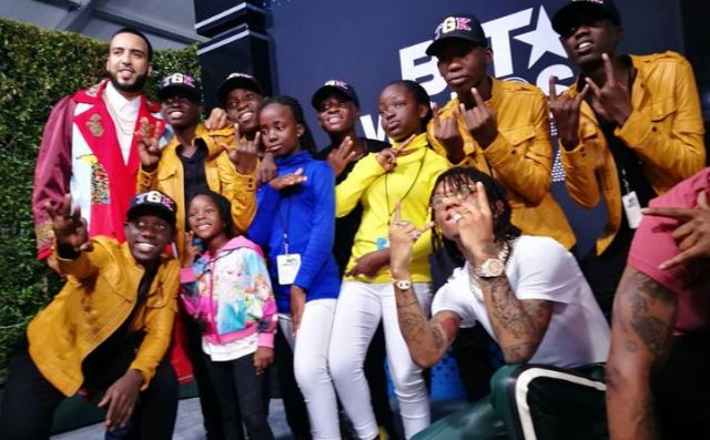 Image result for french Montana and Ghetto Kids