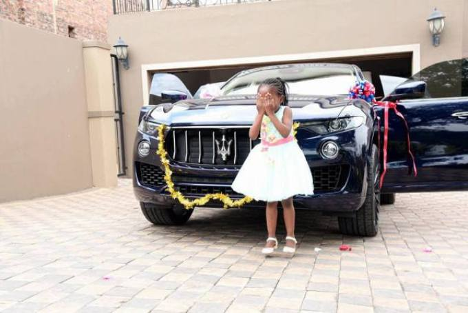 PHOTOS Prophet Shepherd Bushiri Buys 6 Year Old Daughter A Maserati Worth 270m As Birthday Gift