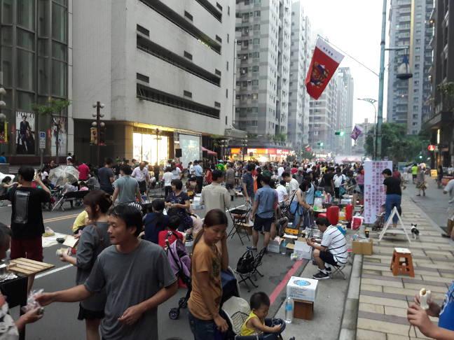Праздник середины осени на Тайване