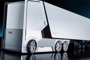 Два концепта электрогрузовика будущего для «Audi»