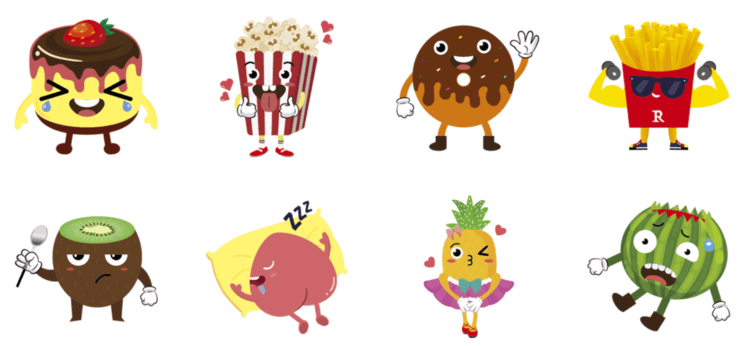 Line stickers: Healthy Effective Weight Loss