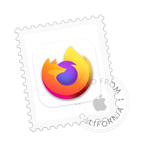 macOS Big Sur icon concept for Firefox browser