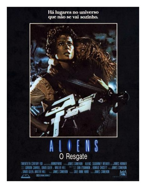 Poster do filme Aliens - O Resgate