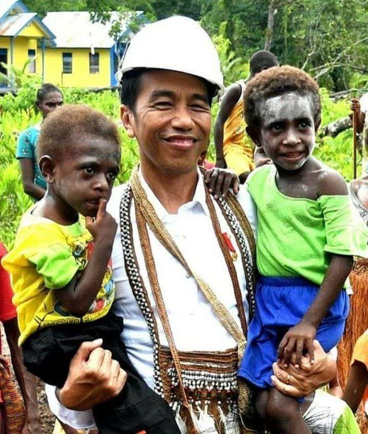 Jokowi, Bapak Papua.