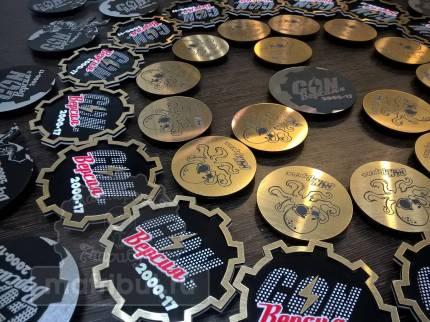 Сувенирные значки для Geek-конвента «CON.Версия»