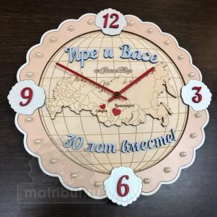 Часы в подарок на жемчужную свадьбу