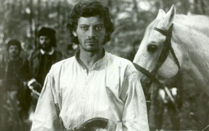 Actorul Adrian Pintea, în rolul haiducului Iancu Jianu