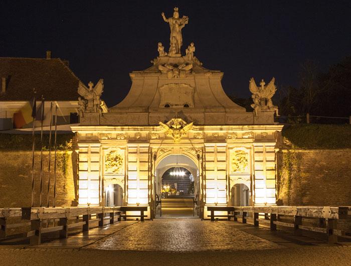 Alba Iulia noaptea