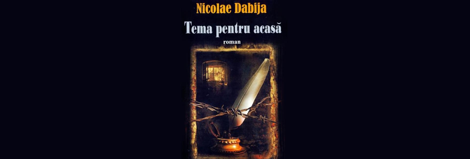 carte roman Nicolae Dabija Tema pentru acasă Basarabia