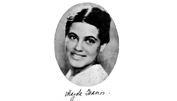 Magda Isanos, vlăstar în poezie românească din perioada interbelică, de loc din Basarabia si sotia lui Eusebiu Camilar slider
