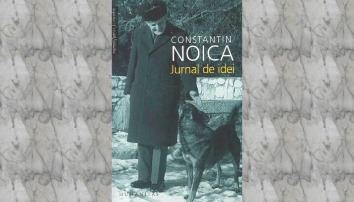 serie de autor Constantin Noica carte Jurnal de idei slider