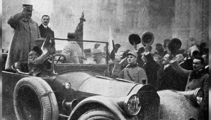 generalul Berthelot francez Franţa România Primul Război Mondial slider