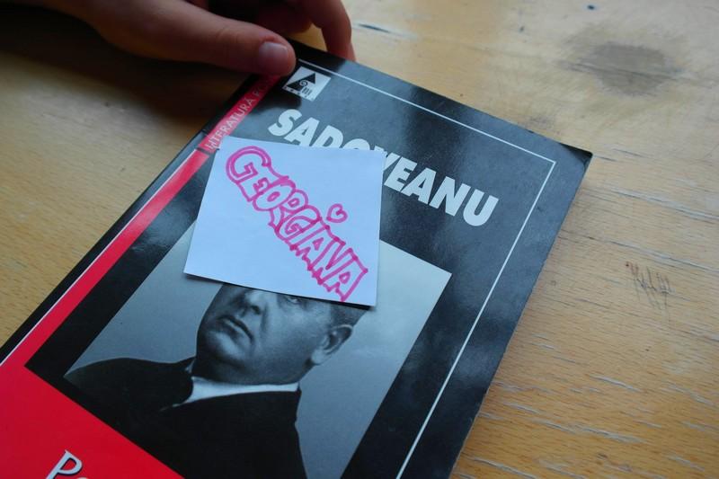 Lucian Blaga Sadoveanu şi alţii carte în sate interior