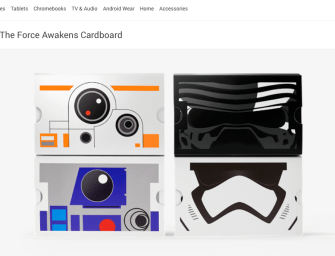 Google's Giving Away Free Star Wars-Themed Cardboard VR Headsets!
