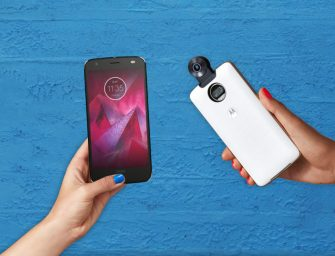 Lenovo Announces Moto Z2 Force w/ Shatter-Proof Display, New 360 Camera Moto Mod