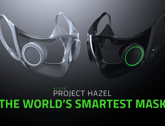 Check out Razer's futuristic mask with voice projection and RGB lighting