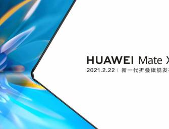 Huawei's next Mate X will have a display on the inside, according to new teaser