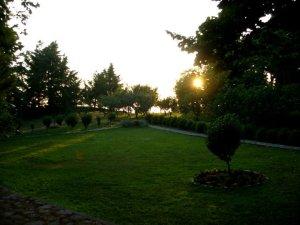 Il parco di Palazzo Cembalo