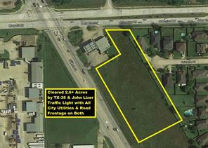 Property for sale at 0 Hwy 35 And John Lizer Highway, Pearland,  Texas 77581