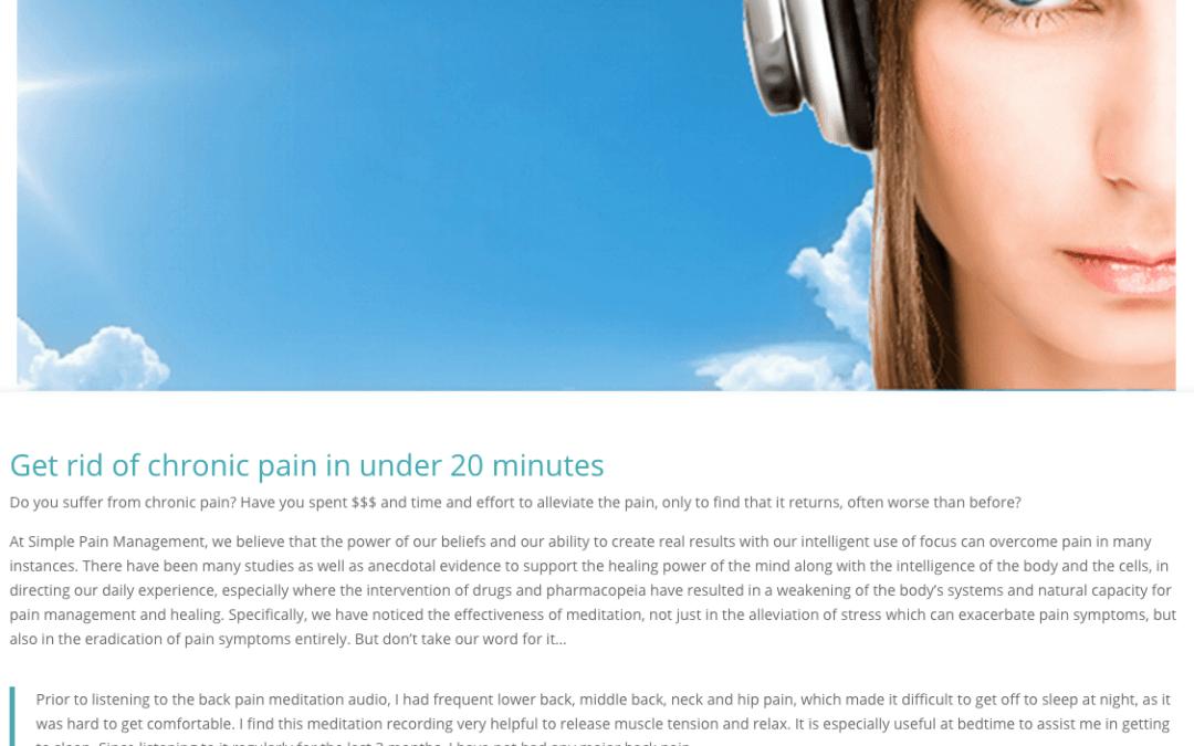 Simple Pain Management
