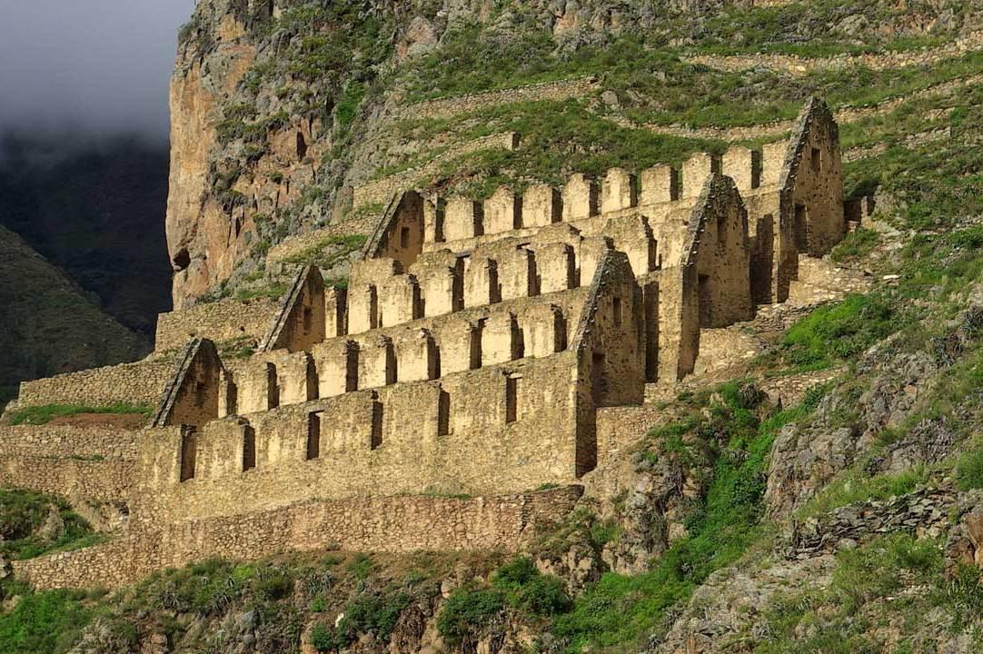 Ollantaytambo Ruins, Peru - Chariots of the Gods