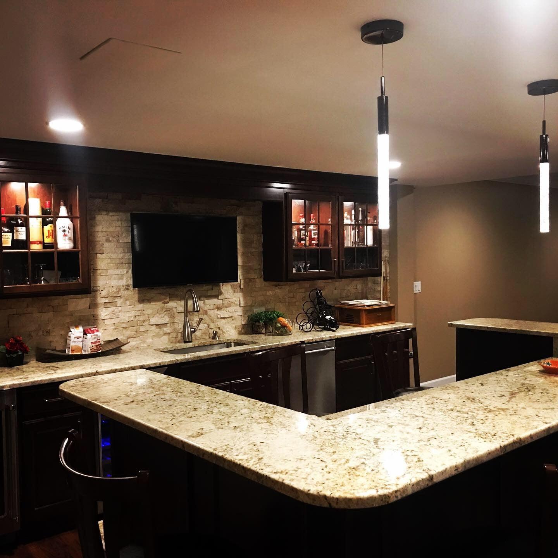 kitchen, remodel, island, basement, home